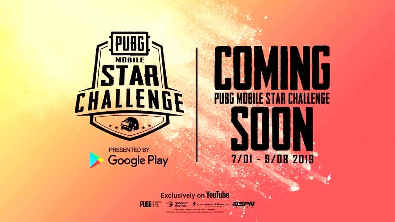 PUBG MOBILE Star Challenge (PMCO) 2019