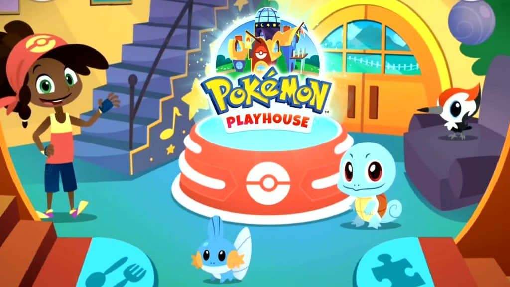 Pokémon Playhouse Mobile Game