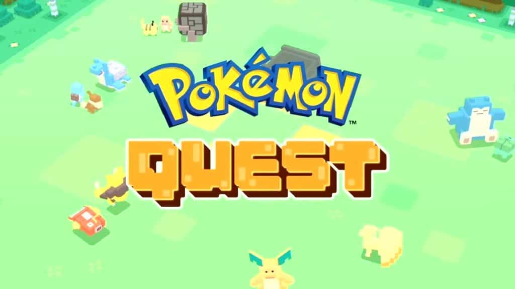 Pokémon Quest Mobile Game