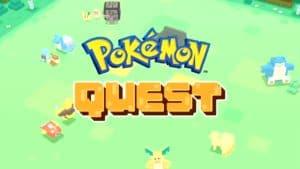 Pokémon Quest Mobile Game