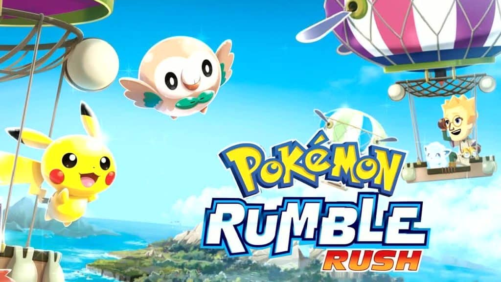 Pokémon Rumble Rush Mobile Game