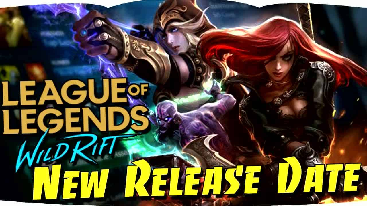 League of Legends Wild Rift Release Date