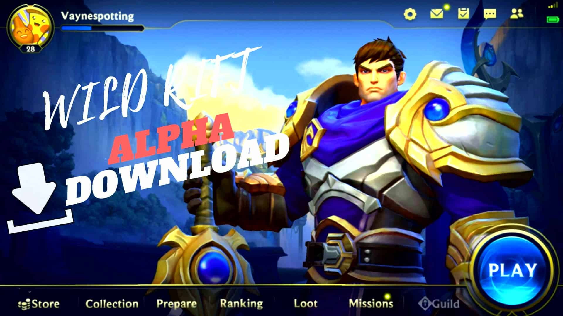 League of Legends Wild Rift Alpha Download - Free Game Hacks