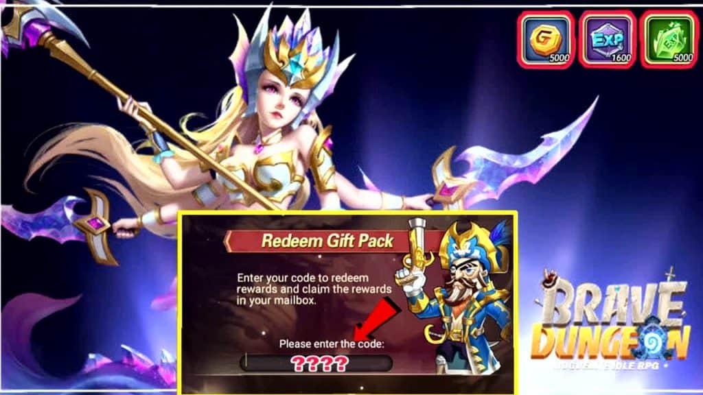 Redeem Brave Dungeon Gift Codes