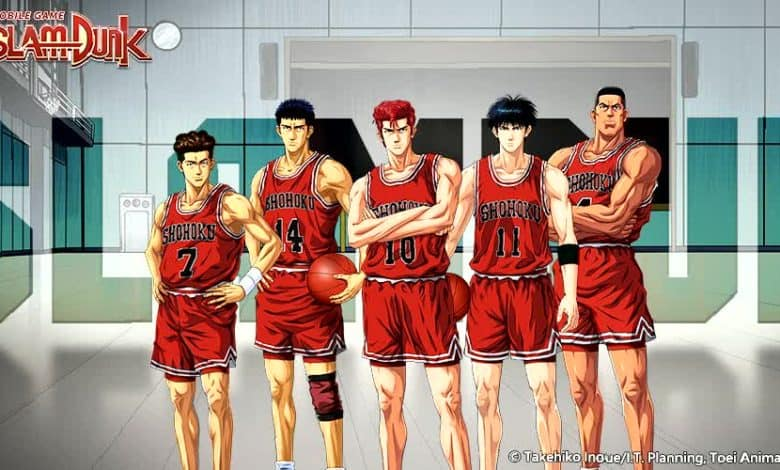 SLAM DUNK mobile game is now officially launched