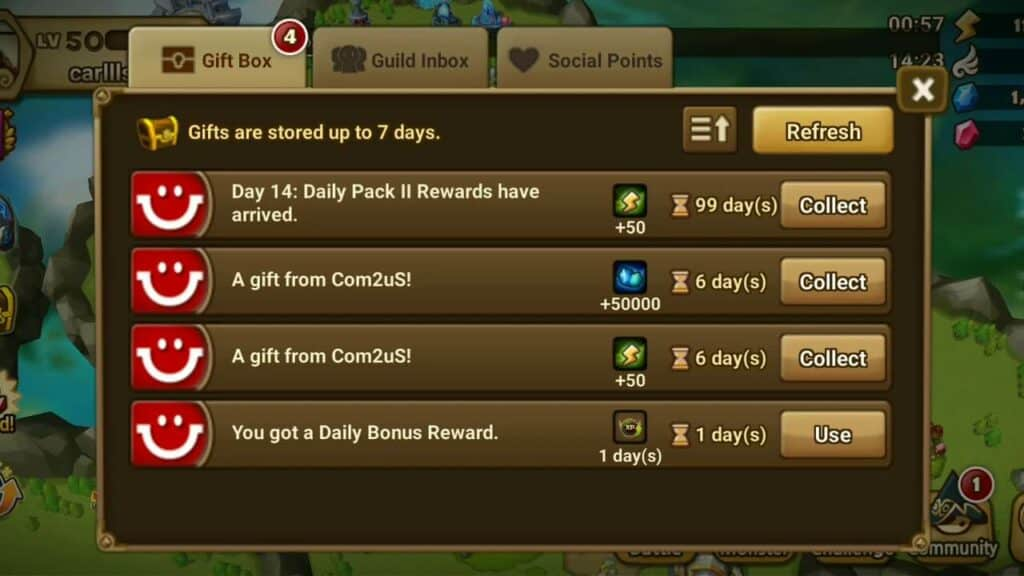 How to use promo code in Summoners War