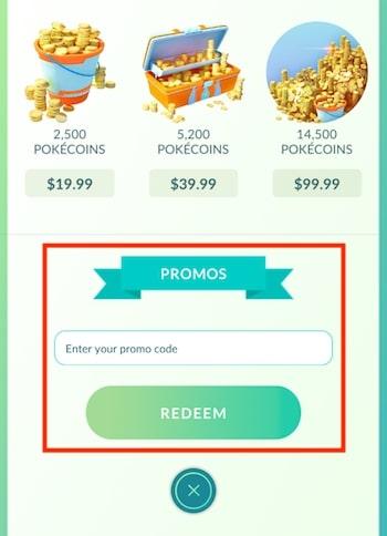 How to Redeem Promo Codes in Pokemon Go