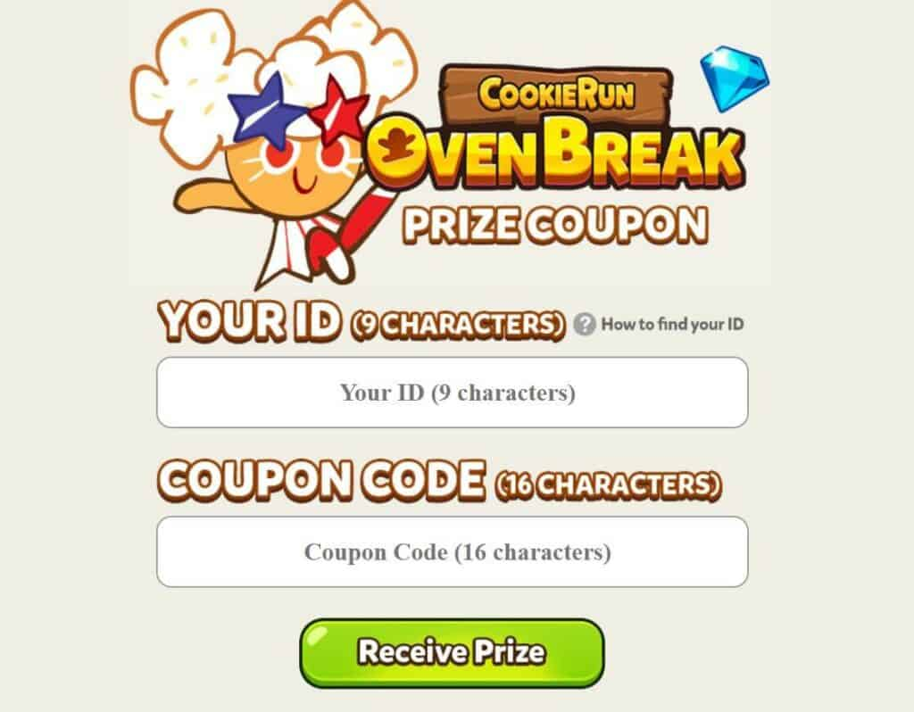 How to use the coupon code in Cookie Run OvenBreak?