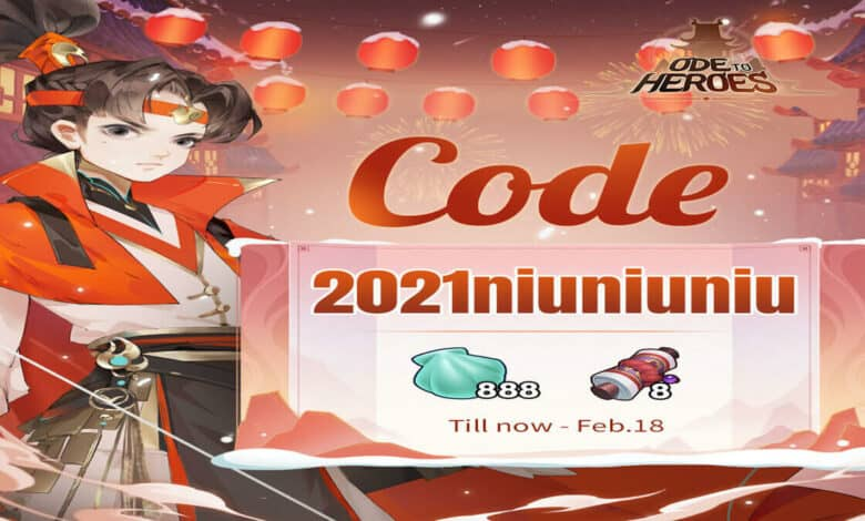 Ode To Heroes Gift Codes