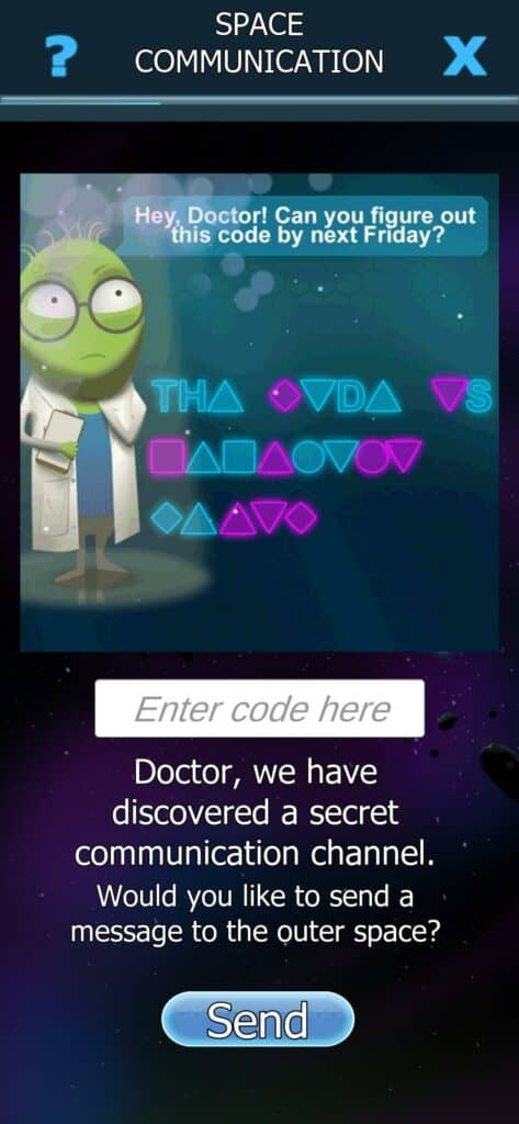 Redeem Bacterial Takeover Space Codes