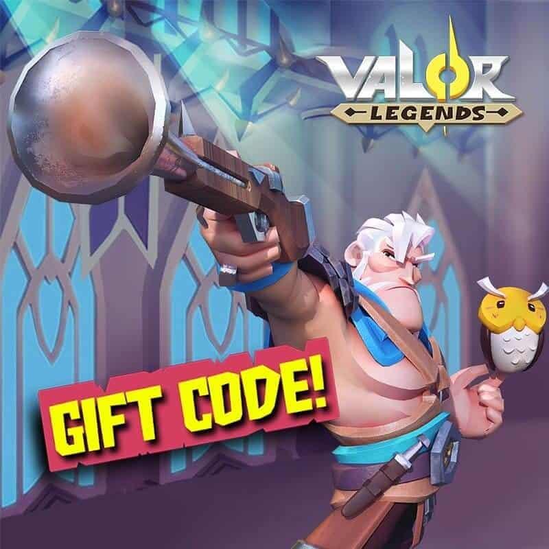 Redeem Valor Legends Gift Codes