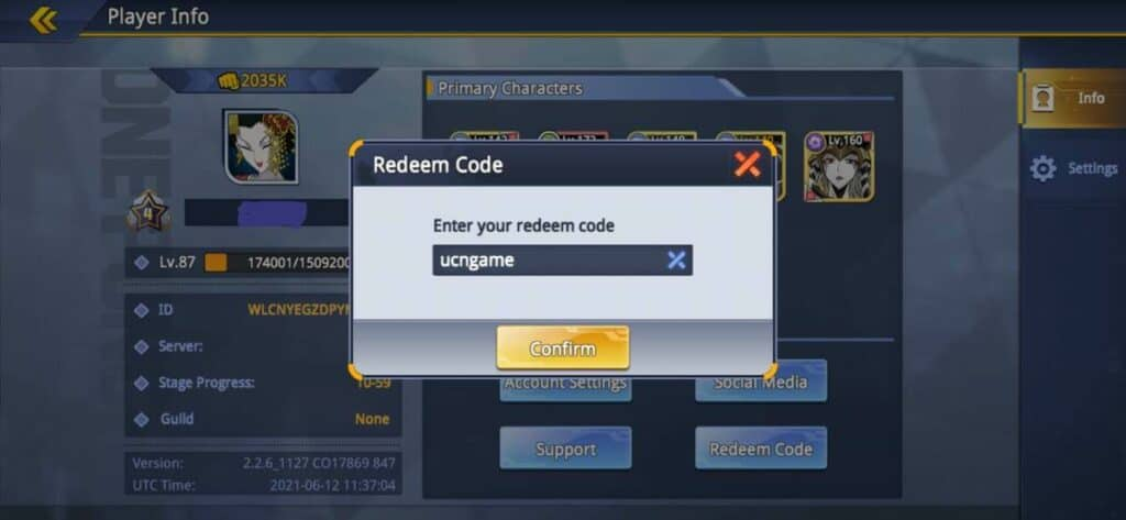 Redeem One Punch Man Road to Hero 2.0 Codes