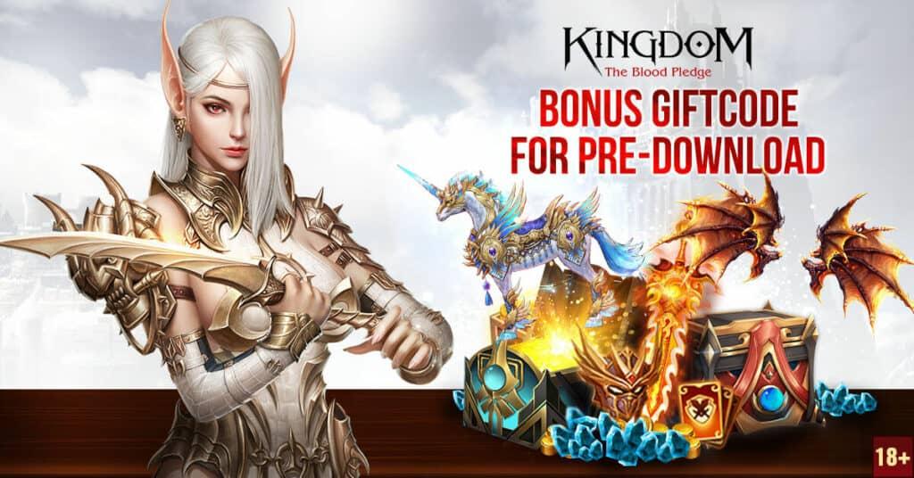 Redeem Kingdom The Blood Pledge Gift Codes