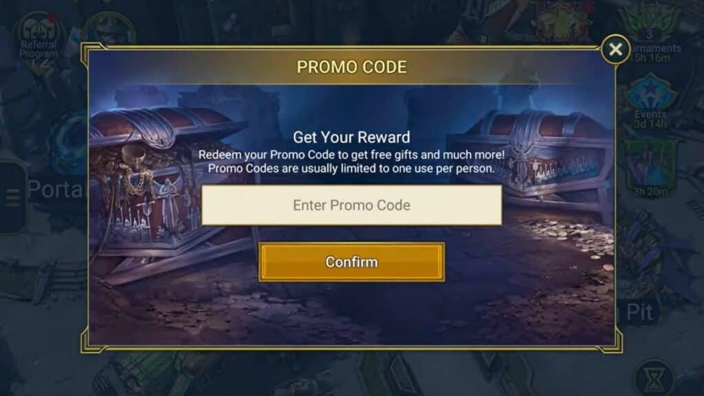 Redeem RAID Shadow Legends Promo Codes