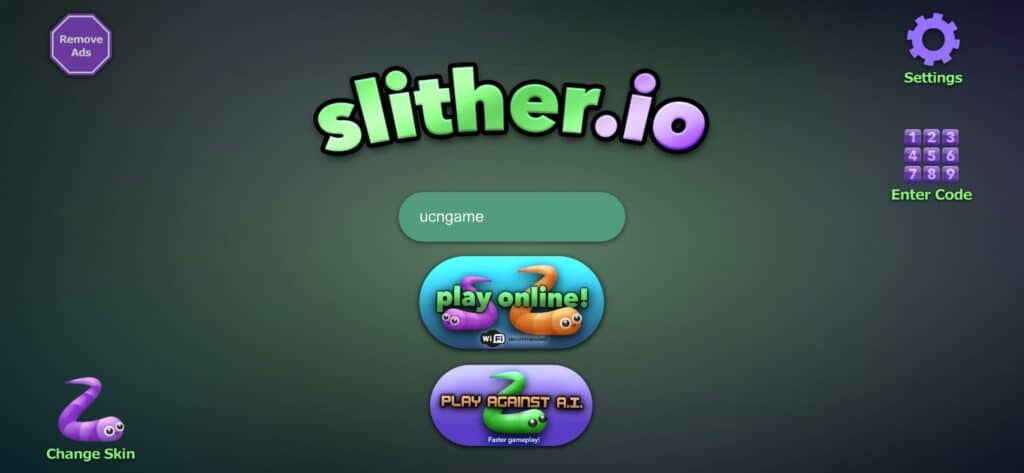 Redeem Slither.io Codes